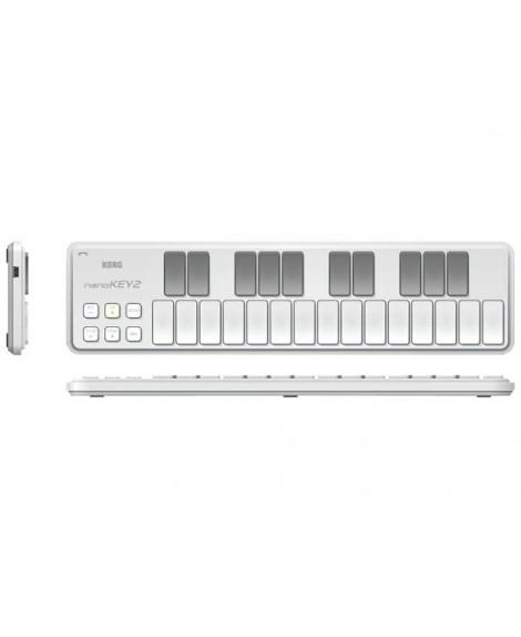 Teclado Controlador Korg Nanokey 2 White