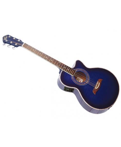 Guitarra Acústica Electrificada Oscar Schmidt OG10CETBL