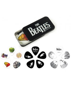 Juego Púas Planet Waves Beatles Logo