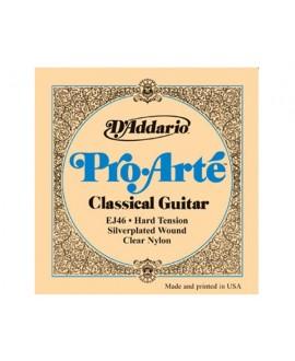 Juego Cuerdas Guitarra Clásica D'Addario EJ46 Hard