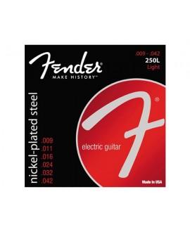 Juego Cuerdas Guitarra Eléctrica Fender 250L