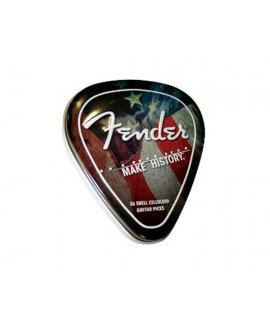 Caja Púas Fender 351 Make History Pick Tin 36