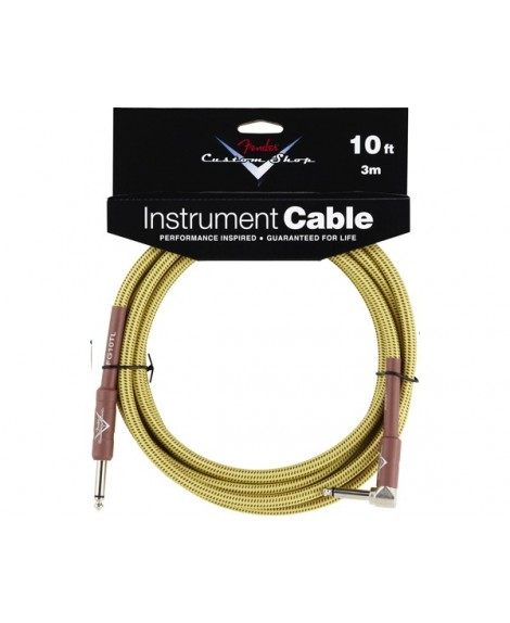 Cable Acodado Jack-Jack Fender Tweed 3 m.