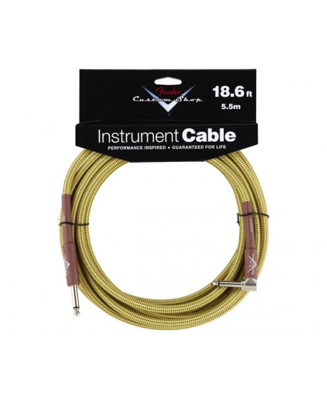 Cable Acodado Jack-Jack Fender Tweed 5,5 m.