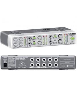 Amplificador Distribuidor Auriculares Behringer AMP800