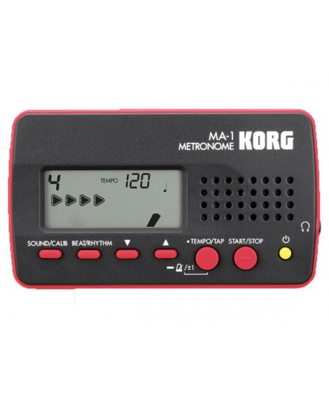 Metrónomo Korg MA-1BKRD
