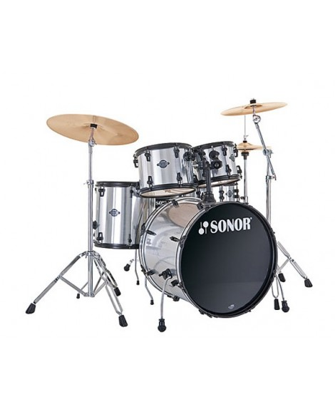 Batería Acústica Sonor Smart Force Studio Brushed Chrome