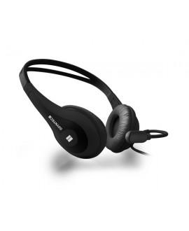 Auricular con Micrófono Soyntec Netsound 500 Black