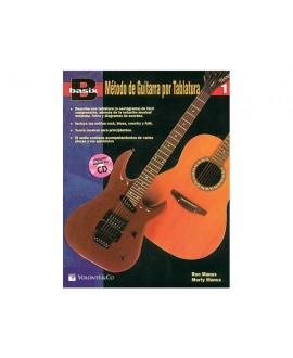 Método Guitarra Tablatura Vol. 1 Basix