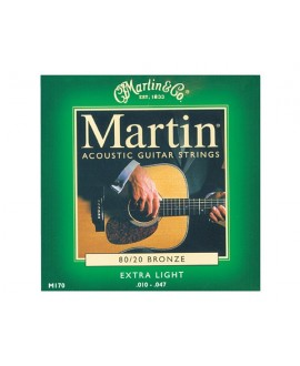 Juego Cuerdas Guitarra Acústica Martin M170