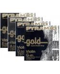 Cuerda Violín Pyramid Gold 108101