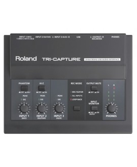 Interfaz Audio Roland UA-33 Tri-Capture