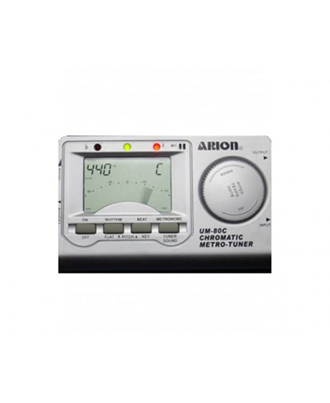 Afinador Metrónomo Arion UM80C