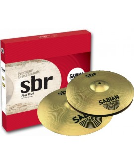 Set Platos Sabian First Pack SBR5001
