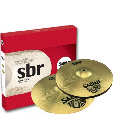 Set Platos Sabian First Pack SBR5001