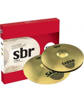 Set Platos Sabian Second Pack SBR5002