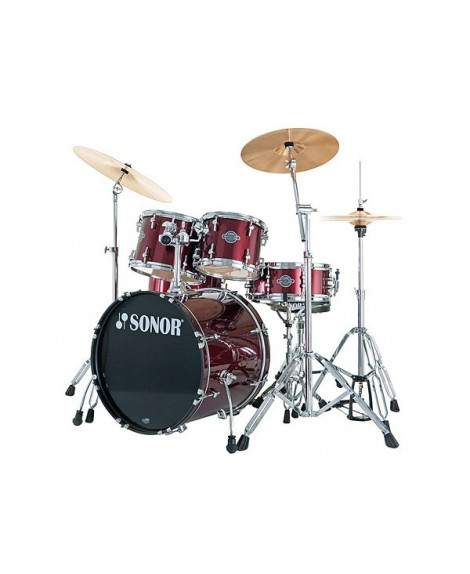 Batería Acústica Sonor Smart Xtend Studio Wine Red