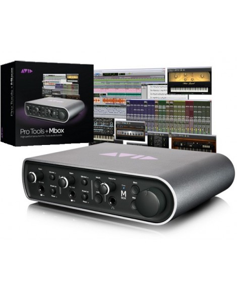 Interfaz Audio Avid Mbox Pro Tools 10