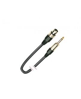 Cable Micrófono XLR Macho - Jack Macho Work K-31