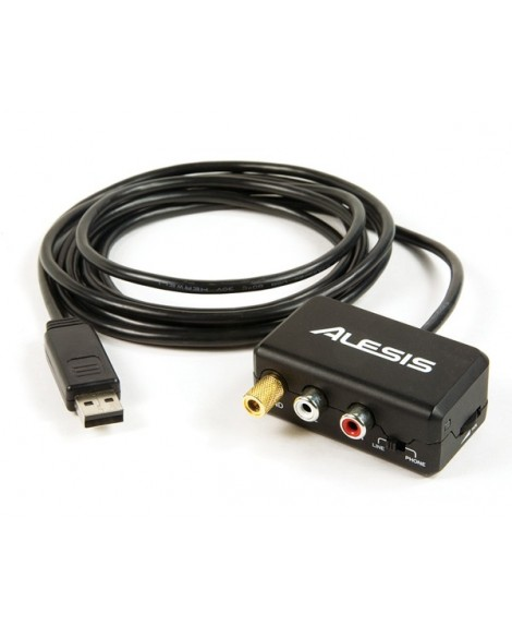 Cable Conversor USB RCA Alesis PhonoLink