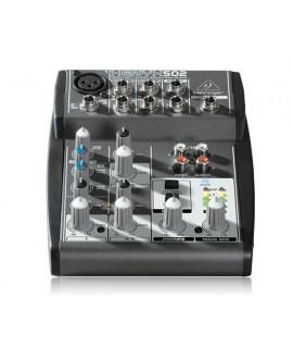 Mezclador Analógico Behringer Xenyx 502