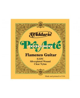 Juego Cuerdas Guitarra Clásica D´Addario EJ-25C Flamenco