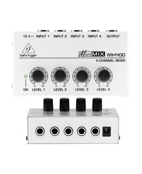 Mezclador Behringer Micromix MX400