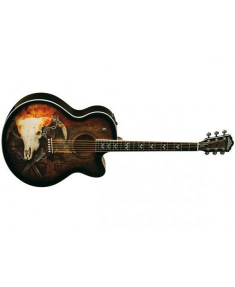 Guitarra Acústica Electrificada Washburn J-32 SCE George Lynch