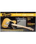 Pack Guitarra Eléctrica Squier Affinity Tele Frontman 15-G
