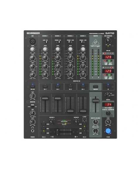 Mezclador Profesional Behringer DJX750
