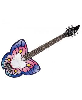 Guitarra Eléctrica Daisy Rock Debutante Butterfly Fantasy