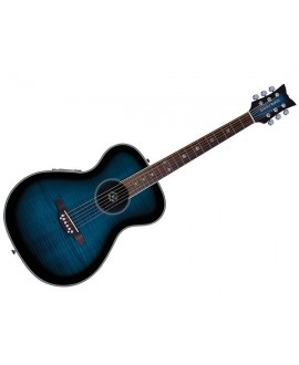 Guitarra Acústica Daisy Rock Pixie Blueberry Burst