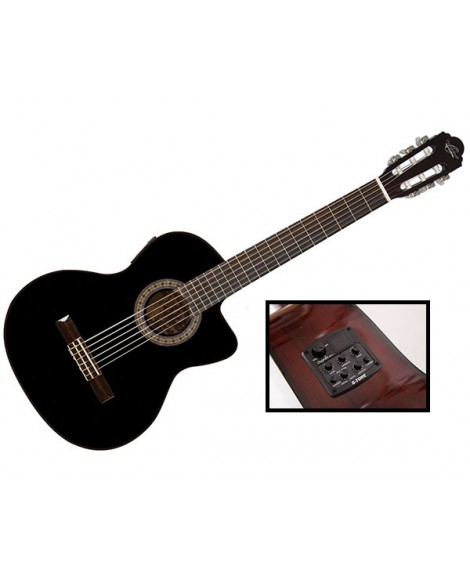 Guitarra Clásica Electrificada Oscar Schmidt OC6CEB