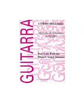 Método Guitarra 2 LOGSE Jiménez y Rodrigo
