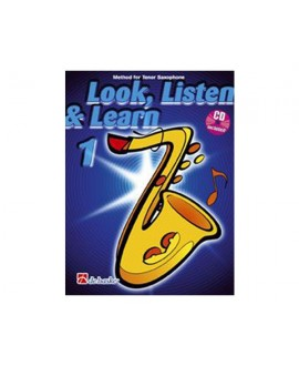Escuchar, Leer y Tocar. Saxofón Alto Vol. 1 Oldenkamp/Kastelein
