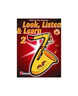 Escuchar, Leer y Tocar. Saxofón Alto Vol. 2 Oldenkamp/Kastelein