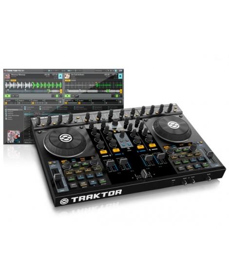 Controlador DJ Native Instruments Traktor Kontrol S4 MkII