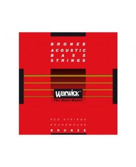 Juego Warwick Bajo acústico 5 cuerdas Red Label 45-135
