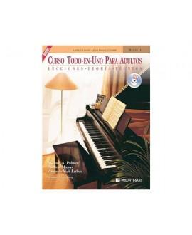 Curso de Piano Todo En Uno Para Adultos Nivel 1