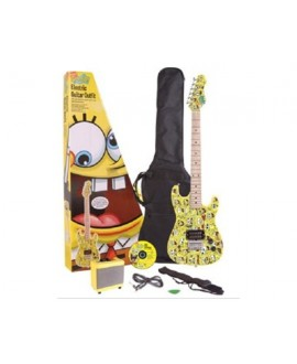 Pack Guitarra Eléctrica Bob Esponja Yellow SBE0FTYL