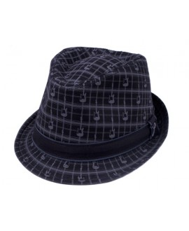 Sombrero Fender Axe Plaid Fedora