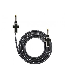 Cable Bullet Cable Cruz Blanco/Negro 3,6m