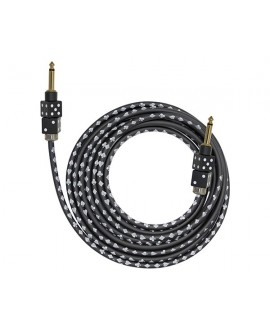 Cable Bullet Cable Dados Negros 3,6m