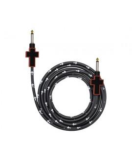 Cable Bullet Cable Cruz Rojo/Negro 3,6m