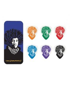 Lata 6 púas John Hamersveld Jimi Hendrix JVHPT-03M