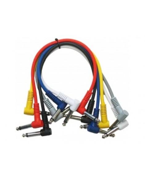 Cables Patch Jack-Jack Acodados BCT P060C
