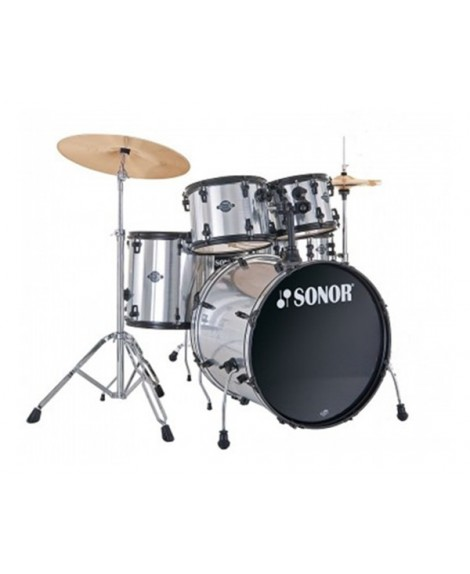 Batería Sonor Smart Force Stage 1 Brushed Chrome
