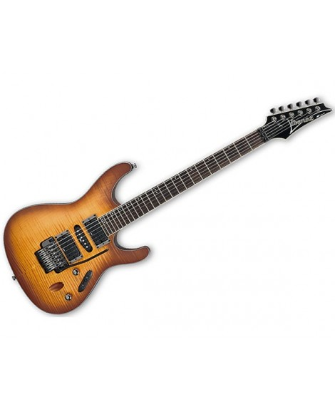 Guitarra Eléctrica Ibanez S870FM-ATF Antique Burst Flat