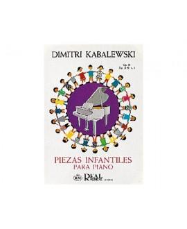 Piezas Infantiles Op.39 y Op.51 nº 1 y 3 Piano Kabalewski