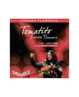 juego Cuerdas Guitarra Flamenco Savarez Tomatito T-50R